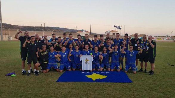Kosovo qualifiziert sich für die U17-EM 2019 als Gruppensieger