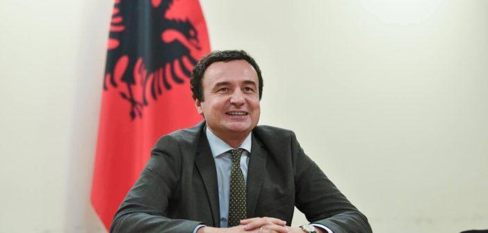 Kurti: Bei einem Referendum würde ich für den Zusammenschluss mit Albanien abstimmen!